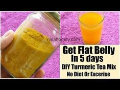 Lose Weight with This Two Minute Ritual - Turmeric Tea DIY Mix For Weight Loss-Get Flat Belly In 5 Days Without Diet/Exercise-Belly Fat Burner Lose Weight with This Two Minute Ritual - Belly Fat Burner Workout Quick Weight Loss Tips, Weight Loss Help, Diet Plans To Lose Weight, How To Lose Weight Fast, Loose Weight, Losing Weight, Reduce Weight, Healthy Recipes, Healthy Foods To Eat