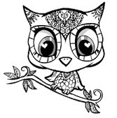 Image result for owlcoloringpages