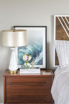 How To Decorate A Nightstand In 10 Minutes   Dream Green DIY