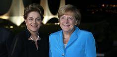 Portal Galdinosaqua: Angela Merkel em um janta de trabalho com a amiga Rousseff Chanceler alemã, Angela Merkel em um janta de trabalho com a amiga Dilma Rousseff, no Palácio da Alvorada