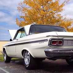 1963 Plymouth Sport Fury. Image found on Hagerty Classic Cars Instagram. Visit pfsllc.com for leasing options.