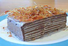 Recept voor hongaarse chocolade laagjestaart - Foody.nl