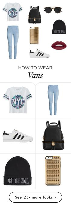 """Day out in Cali"" by emelin-xo on Polyvore featuring Aéropostale, adidas, Michael Kors, Christian Dior, Vans, Rebecca Minkoff, women's clothing, women, female and woman"