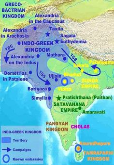 Worship of Krishna, in the form of Vasudev can also be traced to as early as 4th century BCE surprisingly, with another Greek connection!  The Greek emperor ALEXANDER career halt after his brief encounter with the king of the Indus region, PORUS/Parvateshwar. The Greeks - in Taxila/Takshila. They exchanged ambassadors with Indian kings and one such ambassador was Heliodorus who was sent from Taxila to the court of King Bhagabhadra at Videsha (Besnagar, central India).