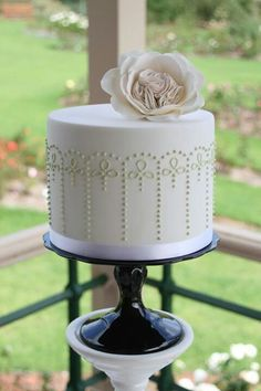 Cake inspiration- piping work