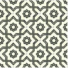 Mughal tile pattern