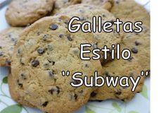 Como Hacer Galletas de Chispas de Chocolate Estilo ''Subway'' - Tutorial