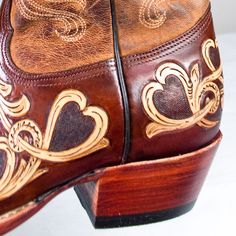 tooled leather boots - Google Search