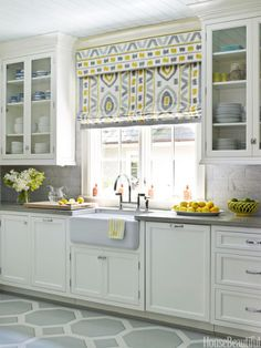 Designer: Lindsey Coral Harper This charming North Carolina kitchen originally appeared in House Beautiful