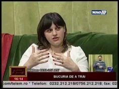 Niculina Gheorghiță, TeleM Iași, Oameni de Poveste - Bucuria de a trăi, 11 Martie 2015 - YouTube Martie, Romania, Youtube, Youtubers, Youtube Movies