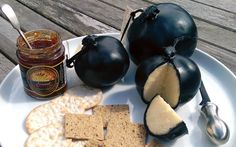 Sandhams Lancashire Black Bomb Cheese cousin to Cheshire Cheese