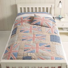 Union Jack quilt...pretty great