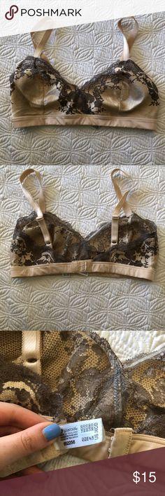 Wacoal Nude Lacy Bra Wacoal 36 C/D Bralette Wacoal Intimates & Sleepwear Bras