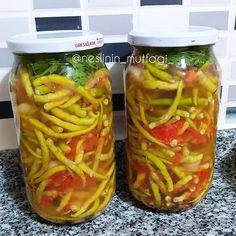 Turkish Recipes, Food Pictures, Pickles, Cucumber, Bagels, Puddings, Food And Drink, Challah, Yummy Food