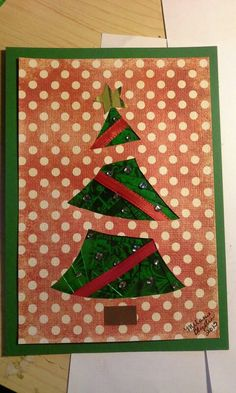 Iris folded christmas tree