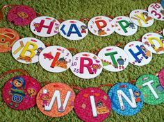 Team Umizoomi MEDIUM Happy Birthday Party Banner INCLUDING PERSONALIZATION