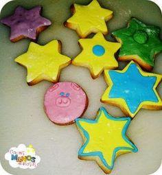 Galletas de Mantequilla decoradas con fondant. Ideal para los más peques de la casa! La receta en mi blog
