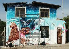 Transformando el comedor popular del barrio Musa - la Molina concepto de identidad para reflexionar sobre nuestras raíces (Ft. @Phoenix / @Amaru) FITECA 2017  #WIP #Art #identidad #naturaleza #convivir #llama #face #inca #condor #Disciplina #Perú #bestartpage #illustratedmonthly #artfido #artistsdrop #artistsoninstagram #murals #urbanart #artist_unity_ #artist_discover #artist_showcase #Pinterest #Jech