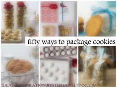 Under The Table and Dreaming: 50 Ways to Package Holiday Cookies: Ideas & Inspiration for Wrapping Cookie Gifts