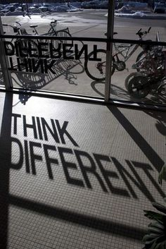Think different about your advertising.