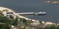 Charitas Waterway Station, Niterói, Rio de Janeiro, Brazil.