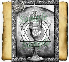 """""""The Great Rite"""" By Grimdeva of Cauldron Craft Oddities on Etsy: Digital BoS Pagan & Wiccan graphics by Grimdeva, available on Etsy at: http://www.etsy.com/shop/CauldronCraftOdditys"""
