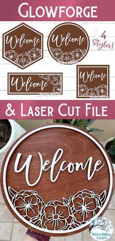 3d Laser, Laser Cut Wood, Wood Laser Engraving, Wood Laser Ideas, Vinyl Crafts, Wood Crafts, Laser Cutter Projects, Laser Cutter Ideas, Router Projects