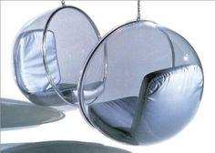 retro-futuristic furniture, retro, future, armchair, furniture, futuristic interior, retro interior by FuturisticNews.com