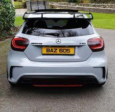 Mercedes Hatchback, Mercedes A45 Amg, Mercedes Benz Cars, Classe A Amg, Car Iphone Wallpaper, Infiniti Q50, G Wagon, Luxury Cars, Dream Cars