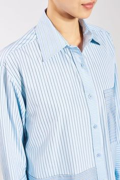 Reconstructed Stripe Shirt by Boutique