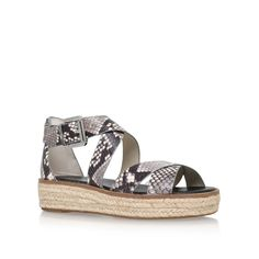 darby sandal beige flat sandals from Michael Michael Kors
