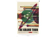 NASA Is Giving Away Downloadable Retro Space Travel Posters for Free