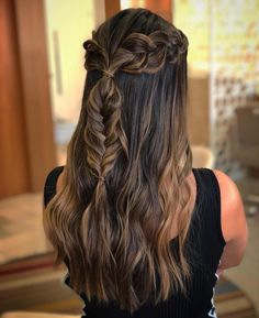 the Beautiful Frisuren Hair extensions braids products Ideas Wireless Security Camera: For Dick Short Hair Styles Easy, Short Hair Updo, Braids For Long Hair, Medium Hair Styles, Box Braids Hairstyles, Half Braided Hairstyles, Hairstyles Videos, Quick Hairstyles, Hairdos