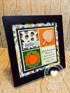 Stamp · Pray · Love: Fall Sampler Frame
