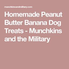 Peanut Butter and Banana Frozen Dog Treats - Munchkins and the Military Peanut Butter Banana Bread, Homemade Peanut Butter, Homemade Dog Treats, Pet Treats, Poo Pourri, Dog Treat Recipes, Dog Food Recipes, Frozen Dog Treats, Dog Health Tips
