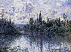 Claude Monet - Arm of the Seine near Vétheuil