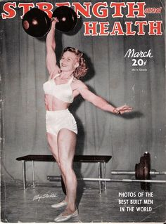 """Discover the amazing story of Abbye """"Pudgy"""" Stockton, the professional strongwoman of Muscle Beach: http://www.anothermag.com/design-living/2088/strongwoman-abbye-pudgy-stockton"""