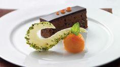 Valentine's Day Dessert Recipe: Sachertorte with Apricot Compote - Celebrity Cruise Line Recipe