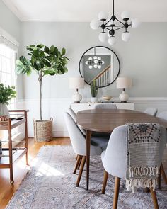 Home Decorating Ideas Kitchen Fine 42 Popular Modern Dining Room Furniture Ideas Dining Room Walls, Dining Room Design, Dining Room Furniture, Furniture Ideas, Dining Chairs, Dining Room With Mirror, Room Chairs, Office Chairs, Curtains For Dining Room