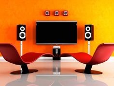 Experts from DIY Network's hit show <em>Hollywood Hi-Tech</em> provide insight on how to set up the audio system in a home theater or media room.