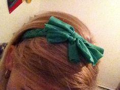 T-shirt headband