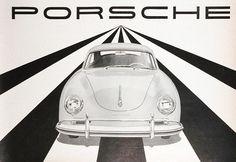 A 1959 Porsche 356 brochure