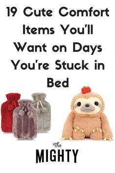 19 Cute Comfort Items You'll Want on Days You're Stuck in Bed Chronic Migraines, Chronic Fatigue, Chronic Pain, Rheumatoid Arthritis, Best Friend Poems, Ulcerative Colitis, Autoimmune Disease, Dercums Disease, Rare Disease