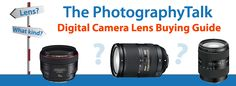 Anything you need to know about lenses. Read before you buy your next lens!  {Kim}