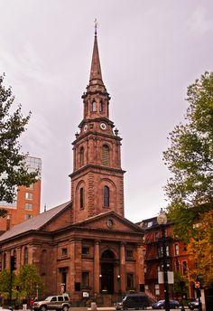 Newbury Street Church in Boston