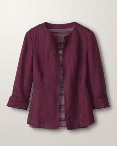 Easy day jacket - [K14328]