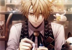 Tags: Anime, Scan, IDEA FACTORY, Official Art, AMNESIA