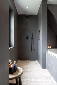 Serene Bathroom, Rustic Bathroom Decor, Bathroom Interior Design, Modern Bathroom, Bad Inspiration, Bathroom Inspiration, Bathroom Ideas, Bathroom Designs, Bathroom Colors