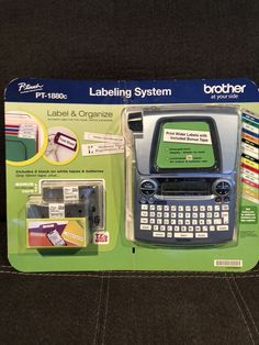 Brother PT-1880c P-Touch Label Maker Electronic Labeling System Brand New #Brother