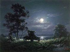 Dalhart Windberg Courtin By Moonlight